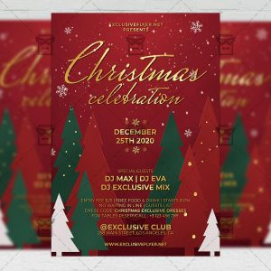 Christmas - Flyer PSD Template