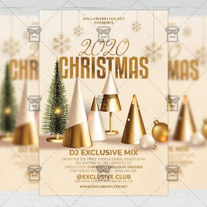 Christmas 2020 - Flyer PSD Template