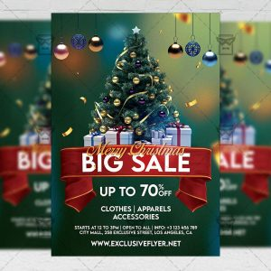 Merry Christmas - Flyer PSD Template