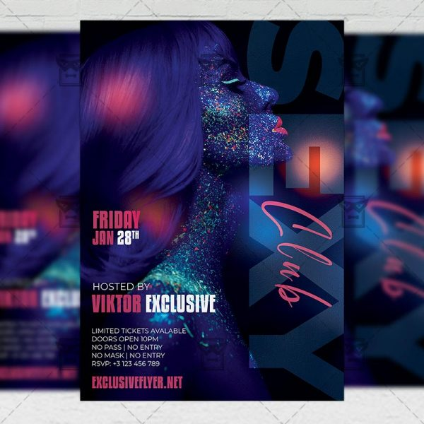 Sexy Club - Flyer PSD Template