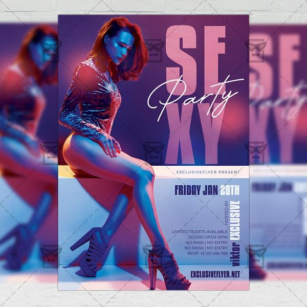 Sexy Party - Flyer PSD Template