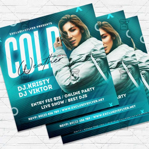 Cold Weather - Flyer PSD Template
