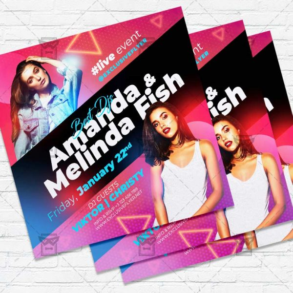 Latin Party - Flyer PSD Template