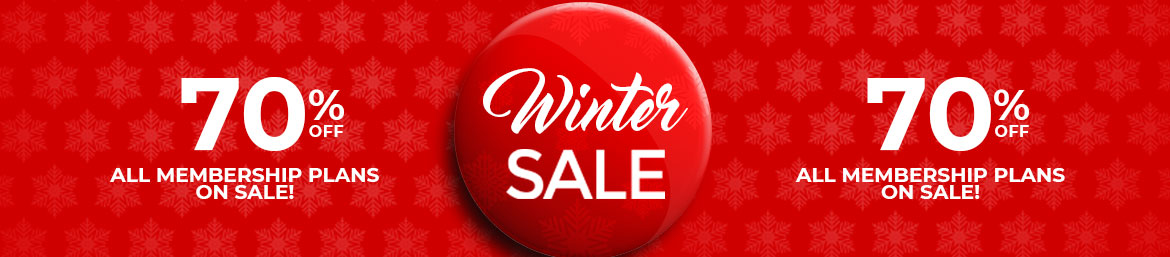 Winter Sale Exclusive Flyer