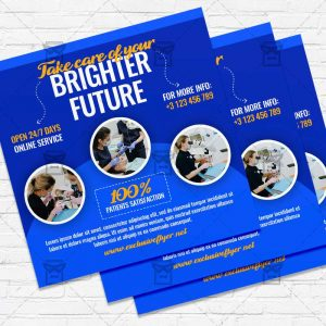 Dentist - Flyer PSD Template