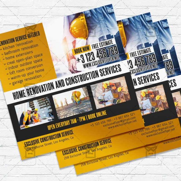Home Developers - Flyer PSD Template