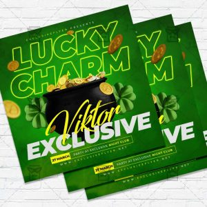 Lucky Charm - Flyer PSD Template