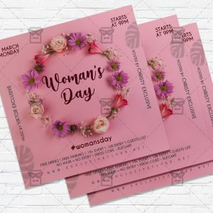 Womans Day - Flyer PSD Template