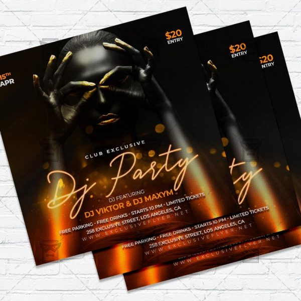 Special Dj Party- Flyer PSD Template