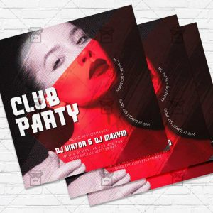 Club Party - Flyer PSD Template
