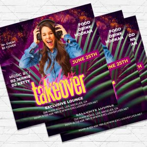 Friday Takeover - Flyer PSD Template