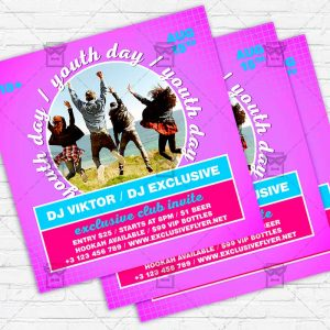 Youth Day - Flyer PSD Template