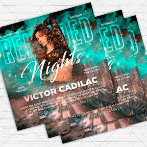 Reloaded Nights - Flyer PSD Template