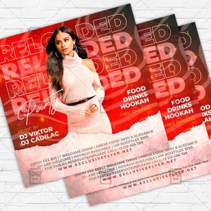Reloaded Party - Flyer PSD Template