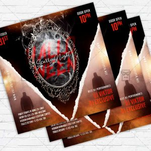 Scarry Night - Flyer PSD Template